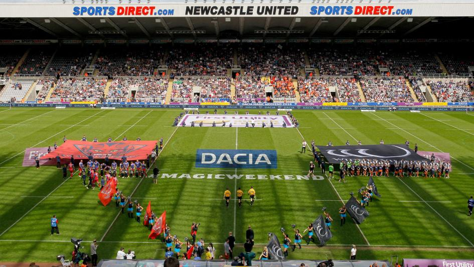 Newcastle hosts Magic Weekend