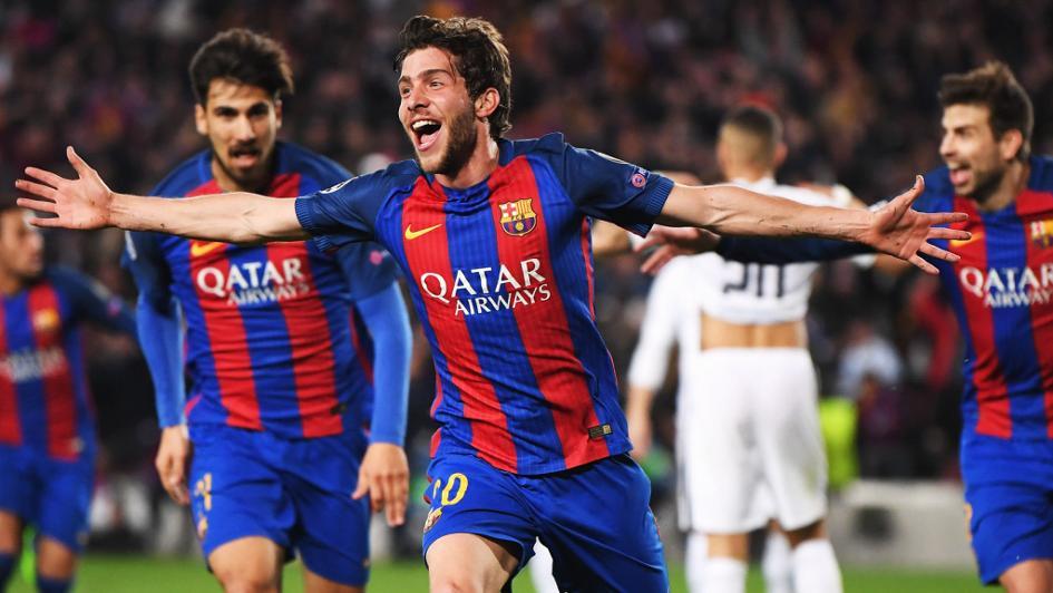 Image result for Barcelona 6-1 PSG